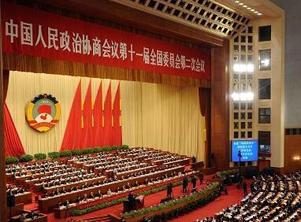 全国政协十一届二次会议举行第四次全体会议