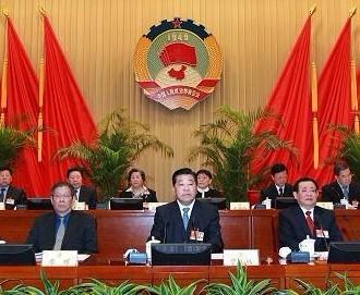 贾庆林主持政协十一届常委会十三次会议