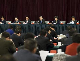 俞正声出席全国统战部长会议并讲话