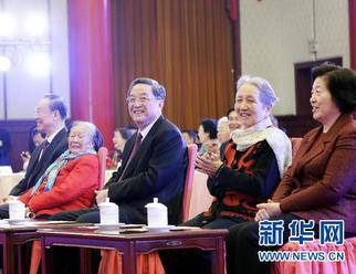 全国政协举行春节茶话会 俞正声出席