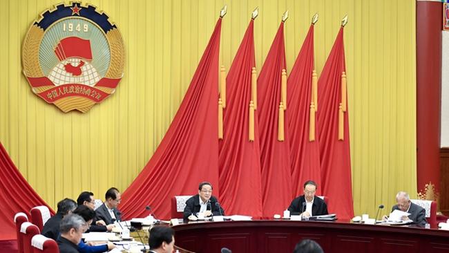 俞正声主持召开全国政协第六十七次主席会议