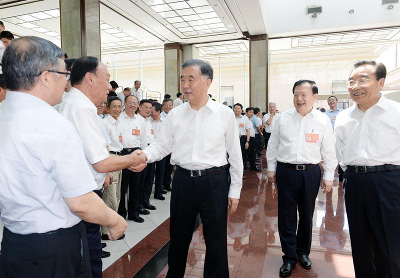 汪洋会见中国人民政协理论研究会第三届理事会理事