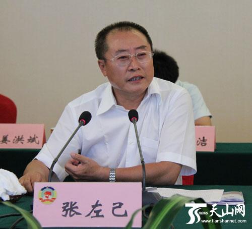 全国政协常委、经济委员会主任、黑龙江省委原副书记、原省长张左己讲话