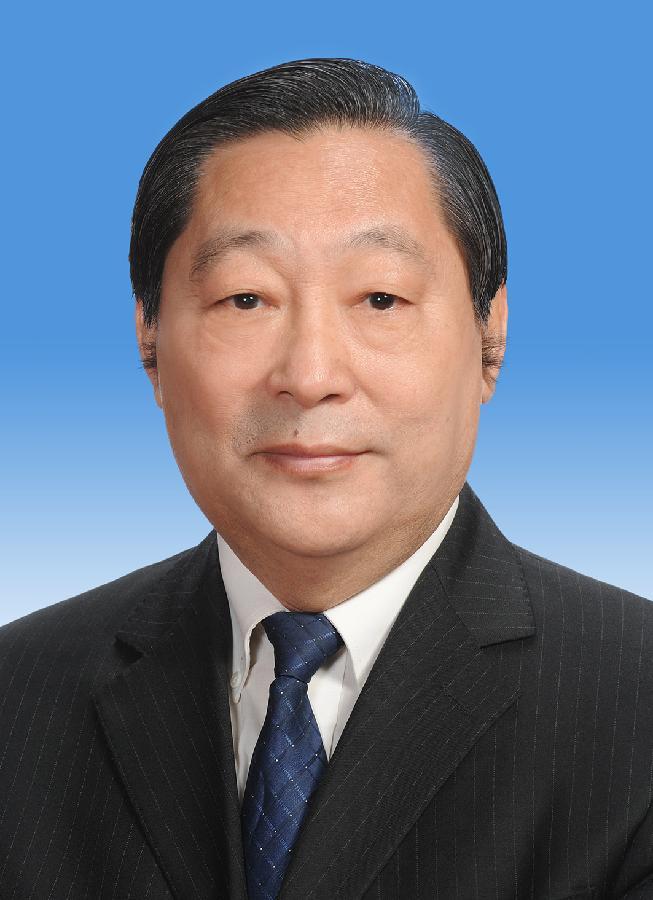 中国人民政治协商会议第十二届全国委员会副主席齐续春 新华社发