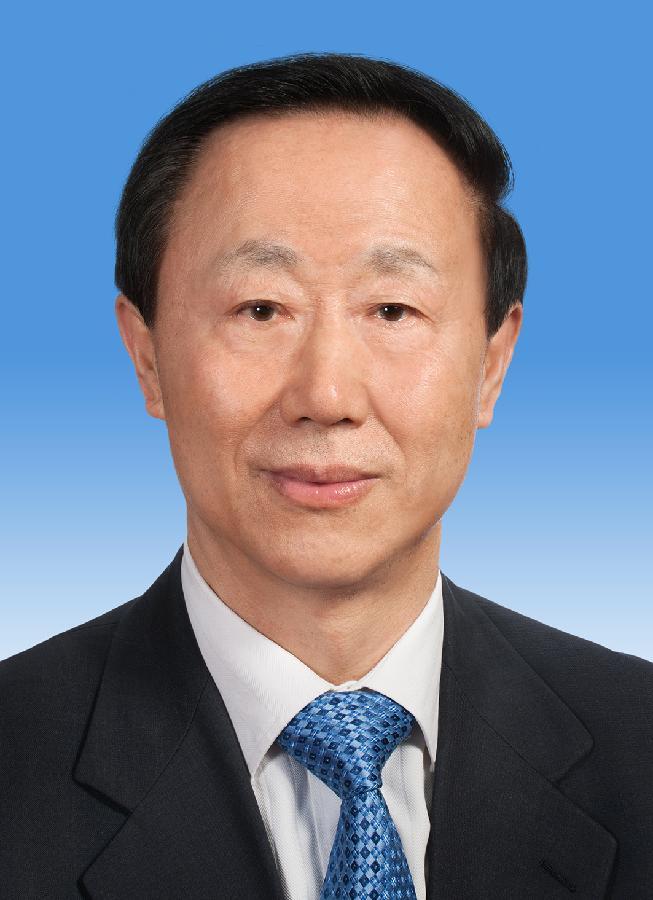 中国人民政治协商会议第十二届全国委员会副主席王家瑞 新华社发