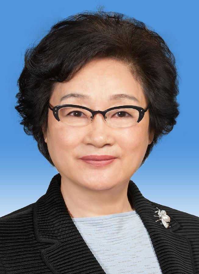 中国人民政治协商会议第十二届全国委员会副主席李海峰 新华社发