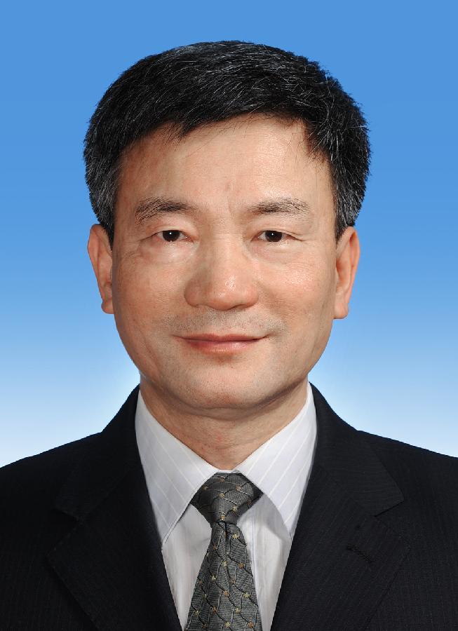 中国人民政治协商会议第十二届全国委员会副主席罗富和 新华社发